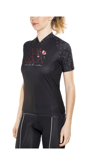 Maloja OrtensiaM. Short Sleeve Bike Jersey Women moonless